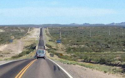 Droga do Patagonii