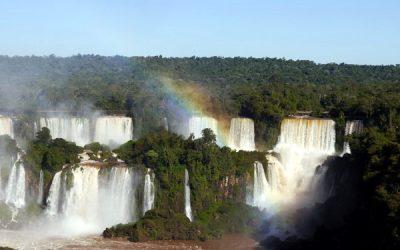Wodospady Iguacu od strony Brazylii