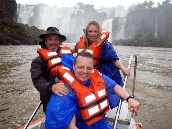 Wodospady Iguazu od strony Argentyny