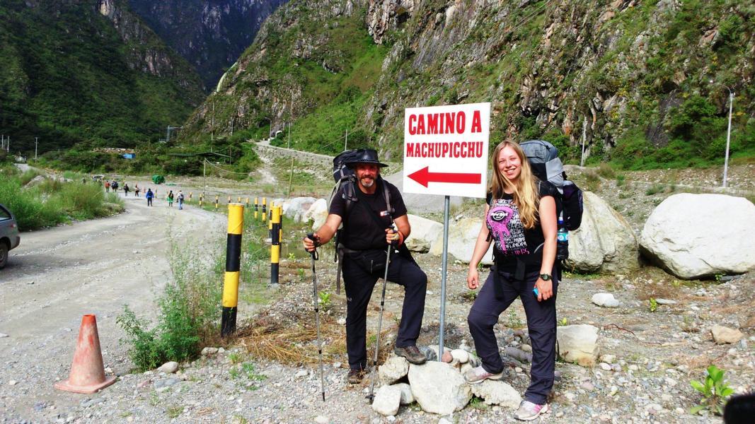 Droga na Machu Picchu