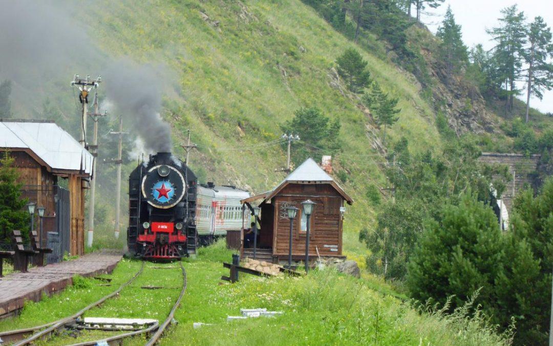 Pociągiem wzdłuż Bajkału